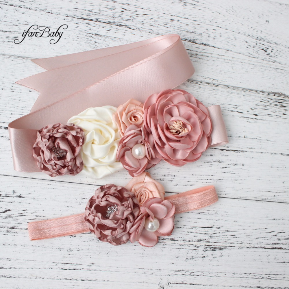 Fashion Burn flower Belt,Girl Woman Sash