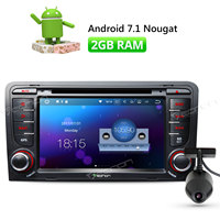 Eonon Dashcam Car Radio GPS Android 7 1 GPS Navigation 7 Inch Double Din For Audi