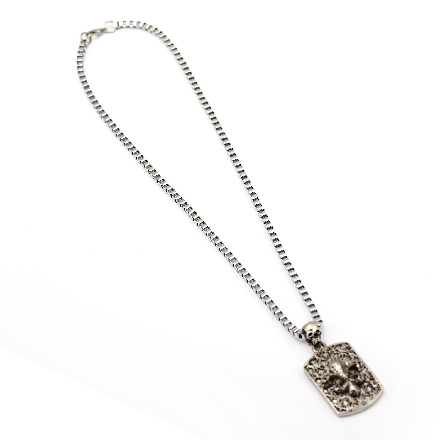 chrome hearts pendant sterling enlarged las products necklace dog tag vegas necklaces jewelry