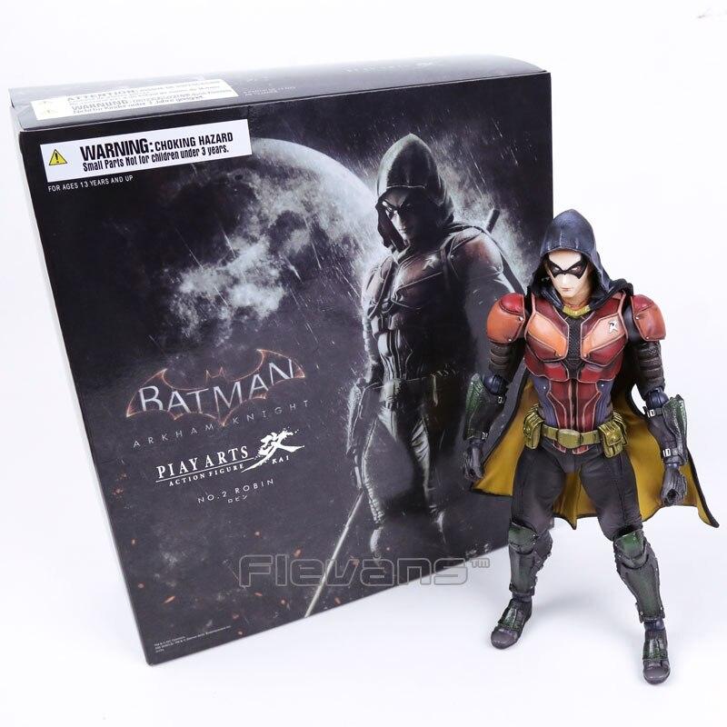 Playarts KAI Batman Arkham Knight NO 2 Robin PVC Figurine À Collectionner Modèle Jouet 25 cm