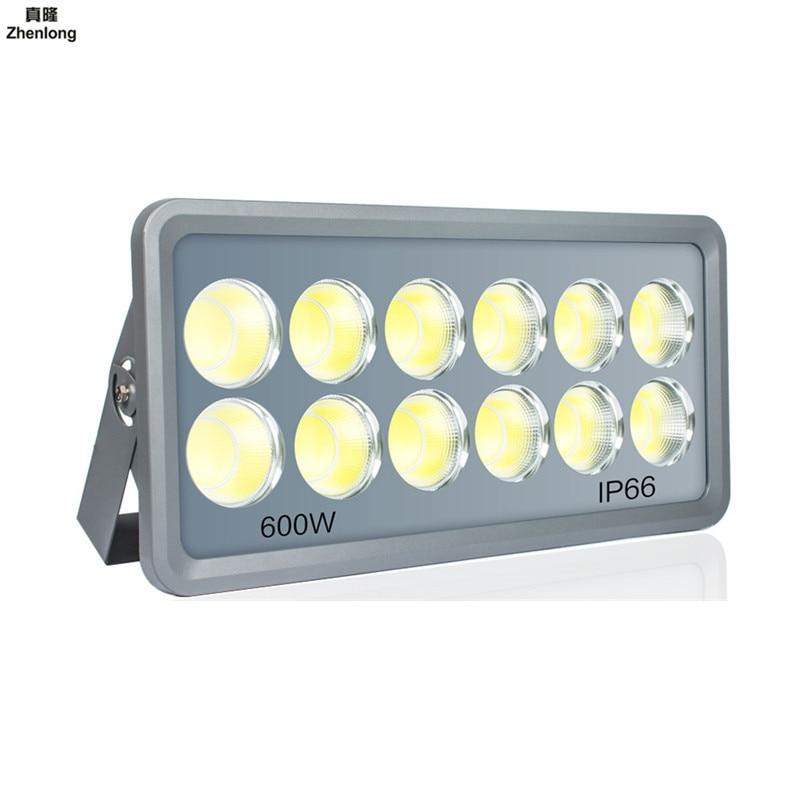 Ultra Bright LED Floodlight 100W 150W 200W 250W 300W 400W 500W 600W COB Cold White Flood Lighting Outdoor LED Flood Lights court
