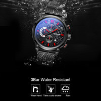 orologi mannen horloge montre homme sports watches Calendar 2018 Water Resistant relogio masculino de luxo Luminous waterproof