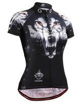 Sıcak Satış Yaz Bayan Bisiklet Formalar Kurt Yol Dağ Bisikleti Gömlek Bisiklet MTB Giysiler giymek Ropa Ciclismo