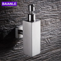 Liquid Soap Dispensers For Bathroom Kitchen Stainless steel Bottle Replacement Hand Liquid Soap Dispensers Spray