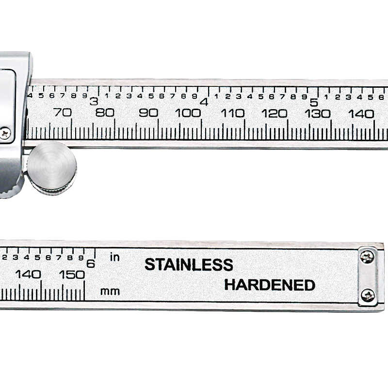 Ton09 6-Polegada 150mm eletrônico de aço inoxidável digital vernier caliper micrômetro de metal de medição