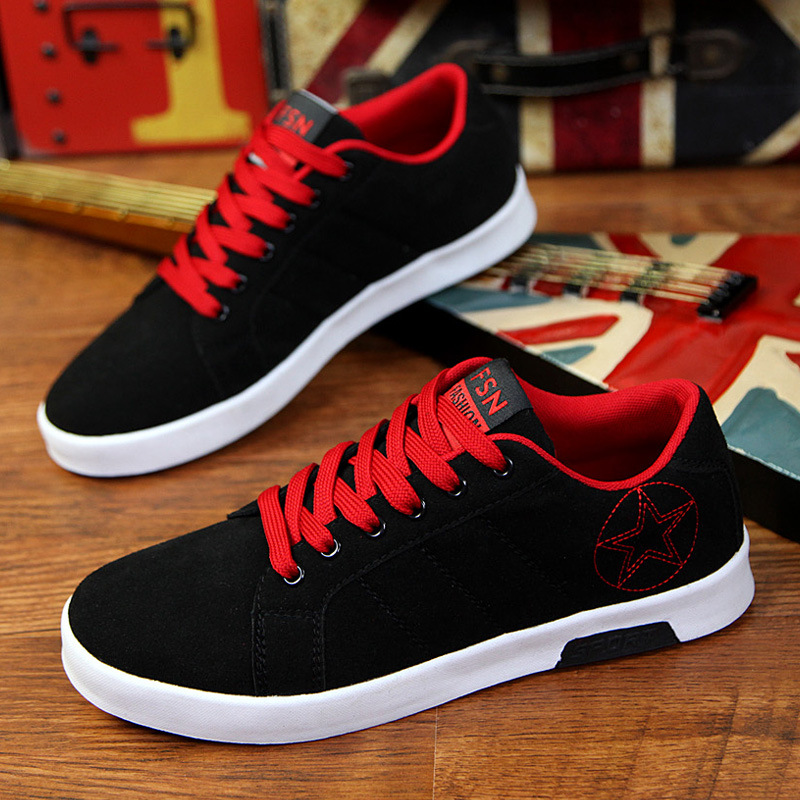 000bfe6a78fd 2016 new fashion autumn mens canvas shoes Korean nice casual shoes the low  heeled shoes for men-in Men's Vulcanize Shoes from Shoes