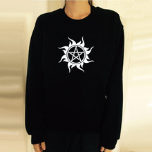 Black Supernatural Logo Sweatshirt
