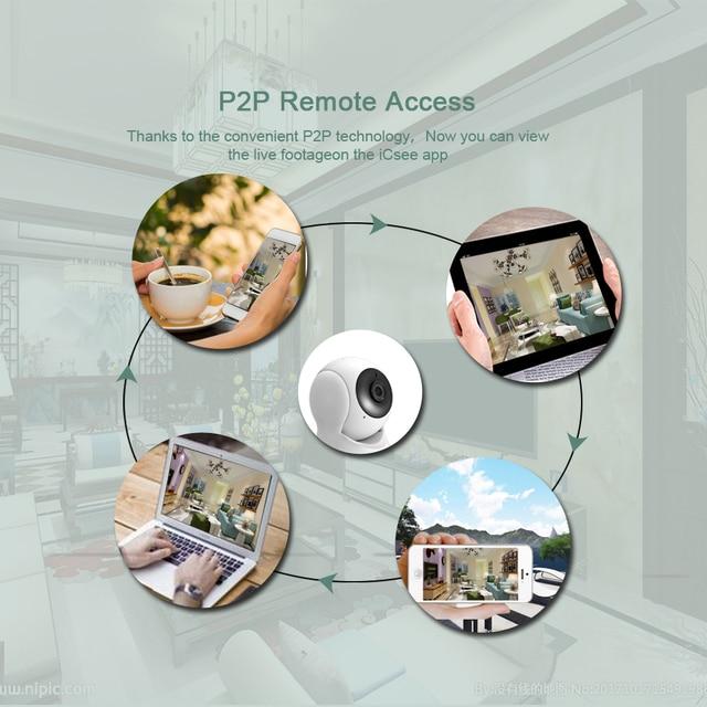 BESDER 1080P 720P Home Security IP Camera Two Way Audio Wireless Mini Camera Night Vision CCTV WiFi Camera Baby Monitor iCsee 3