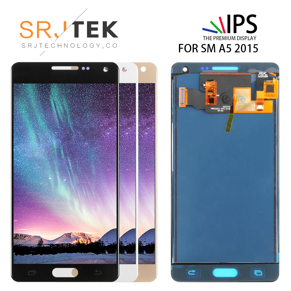 5.0'' TFT Screen For <font><b>Samsung</b></font> Galaxy A5 2015 <font><b>A500</b></font> A500F A500FU A500M A500Y A500FQ <font><b>LCD</b></font> Display Touch Screen Digitizer Assembly image