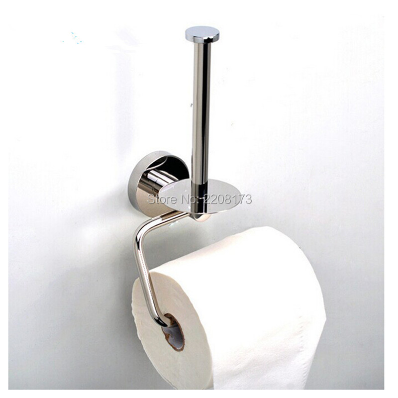 Good Quality Wall Mount Stainless Steel Double Roll Toilet Paper Holder Storage Dual Paper Towel