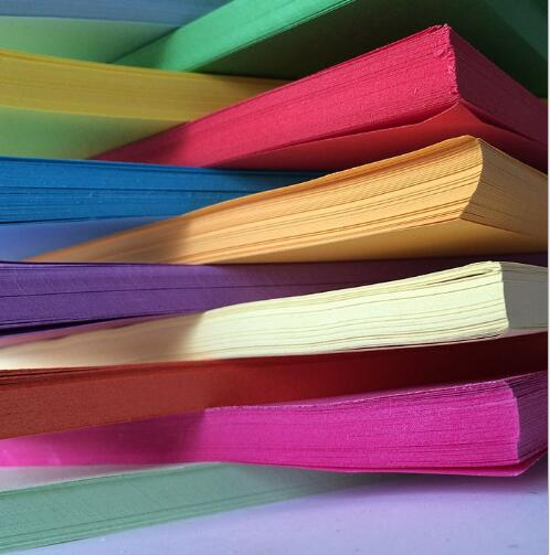 Copy Paper Folding Colored Paper Printing Paper 70g 80g 10colors 500sheets/bag