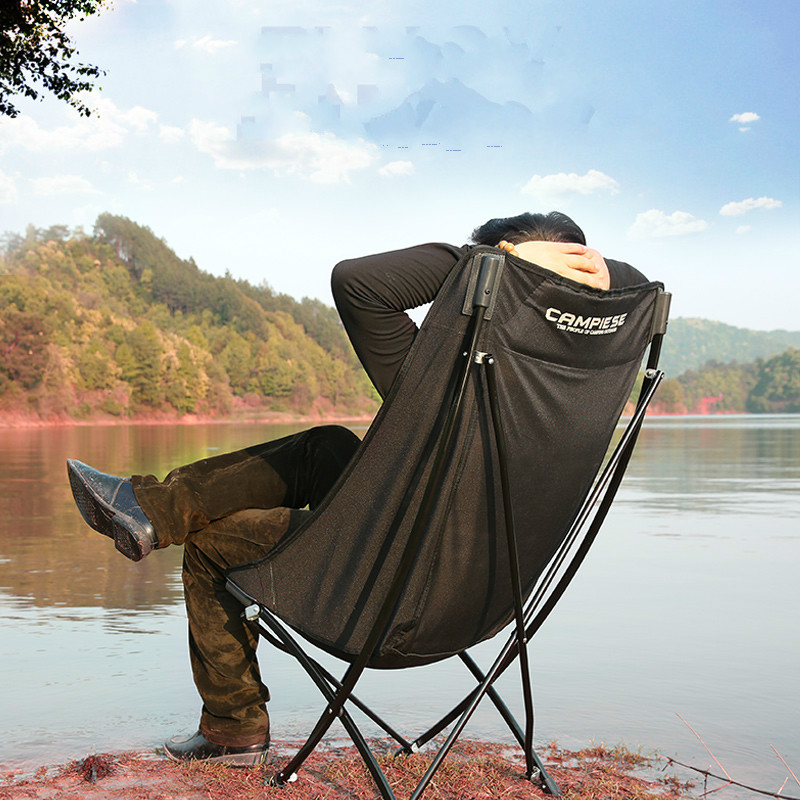Outdoor Furniture Furniture Steady Outdoor Folding Chairs Fishing Chair Portable Camping Stool Foldable Chair With Double Layer Oxford Fabric Cooler Bag Wide Selection;