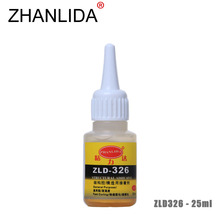 ZHANLIDA 326 25ml Structural Adhesive High Strength Glue Rubber Steel Metal Plastic Wood Bonding Glue