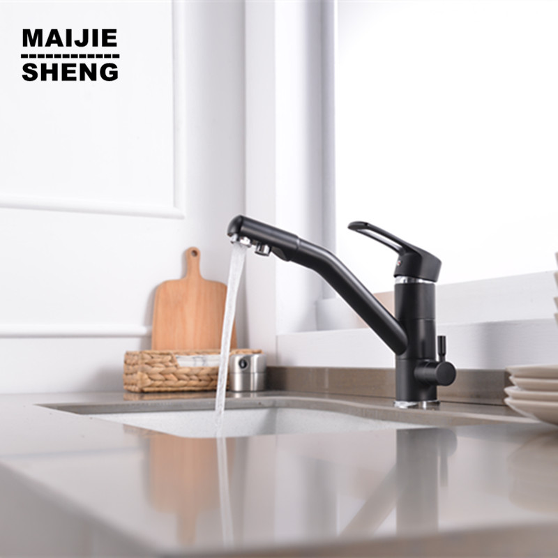 3 way kitchen faucet Pure Drinking Water Filter kitchen Faucet sink tap 3 Way kitchen Mixer double function kitchen sink tap 2015 double function kitchen faucet 3 way kitchen faucet sink mixer water kitchen dinking faucet three way sink mixer tap