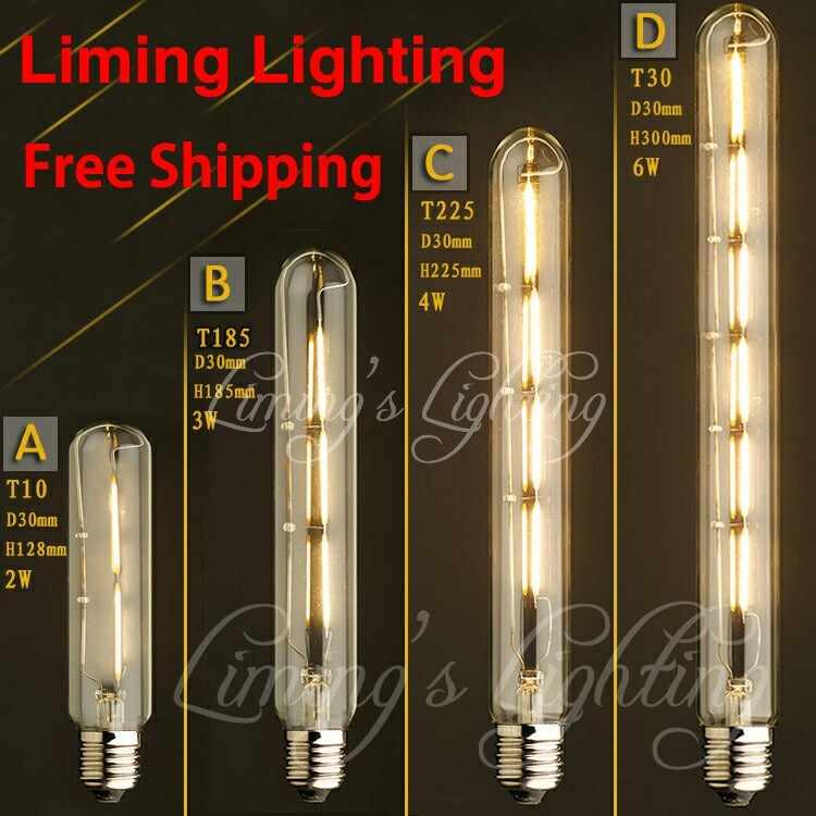 Vintage Loft Retro DIY E27 luz incandescente en espiral, novedad accesorio de iluminación, bombillas vidrio Edison 40W 60W 110-240V lámparas colgantes iluminación