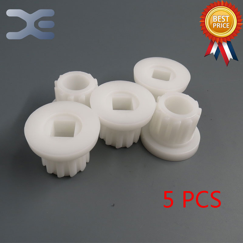 5Per Lot Meat Grinder Parts High Quality Plastic Gear Plastic Sleeve Screw For Bork Cameron bork k8f1 k8f2
