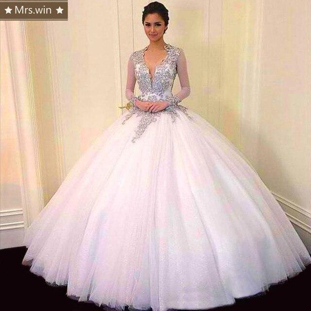 b6c7a82c2 Dulce 16 V Cuello Sin Respaldo Vestidos de Quinceañera vestido de Bola de  Tulle De 15