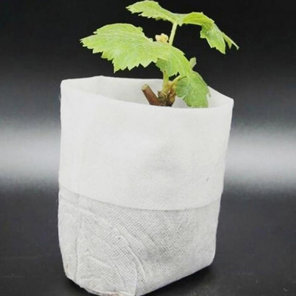 100 шт., мешочки для выращивания семян, 8 х10 см