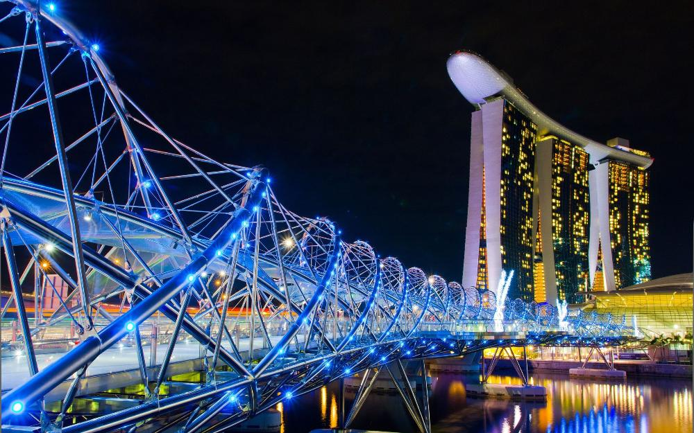 Singapore 4 Nights 5 Days with 3 Star hotel @ 20999