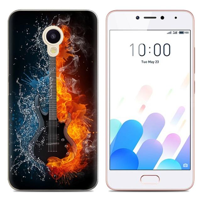 Drop Shipping TPU Soft Phone Case for Meizu M5c Meizu A5 Meizu Charm Blue A5 5-inch Fashion Pattern Colorful Painted 2