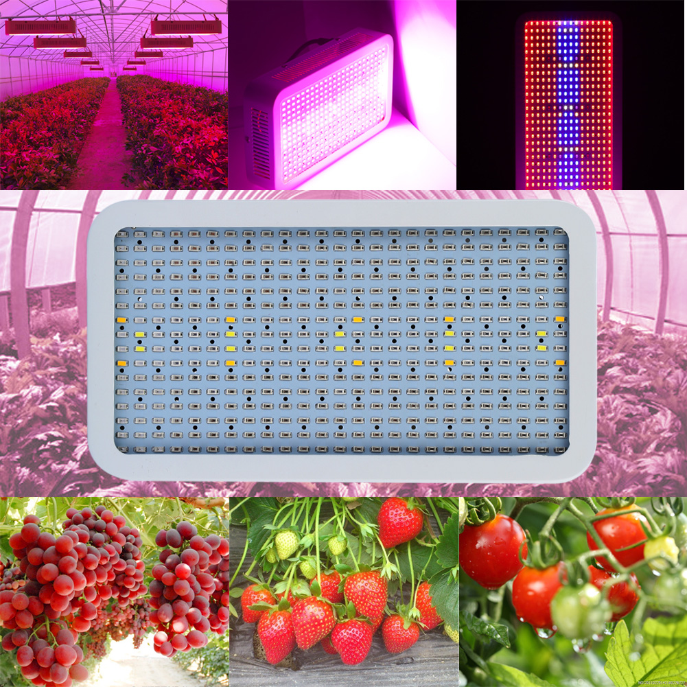 400W LED Grow Lights Full Spectrum Indoor Plant Lamp for Plants IR UV RED BLUE ORANGE WHITE Rrow LED Plant Flowers Lights 100w 200w grow led chip full spectrum 7 band 8 band red blue with fr uv for indoor plant seeding grow flower 3 years warranty