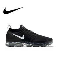 Original authentic NIKE AIR VAPORMAX FLYKNIT 2.0 men's running shoes breathable elastic outdoor sports shoes 942842 001