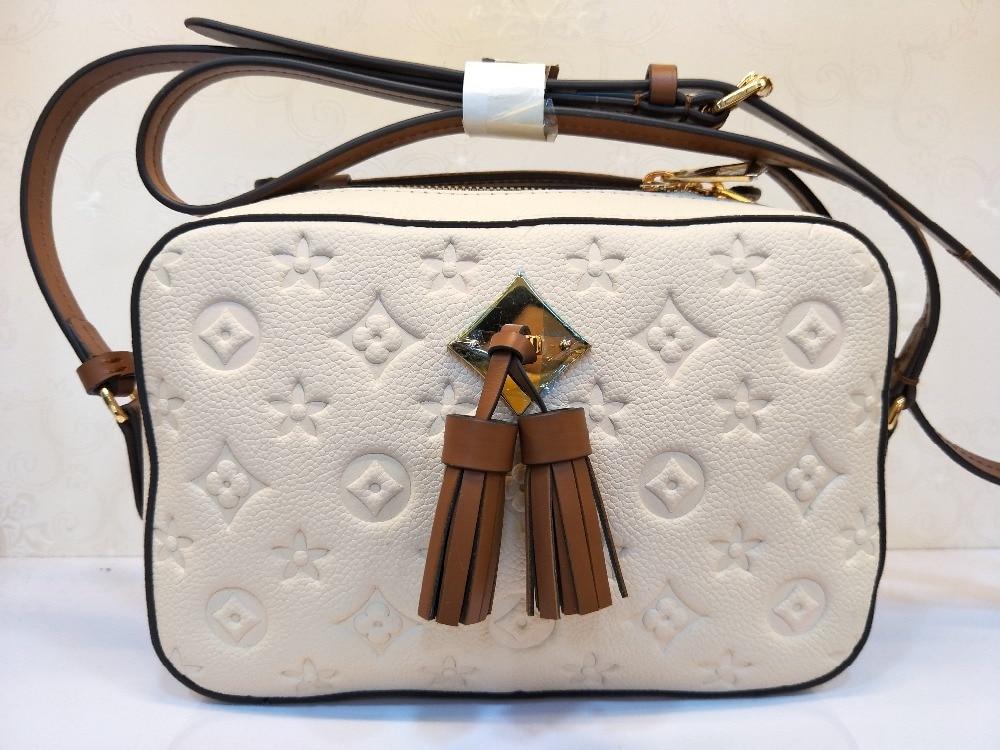 Marke Luxus Klassische Beste Verschiffen 100 Berühmte Damen Mode Die Messenger Freies Leder Tasche Qualität Schulter 1vtFqw