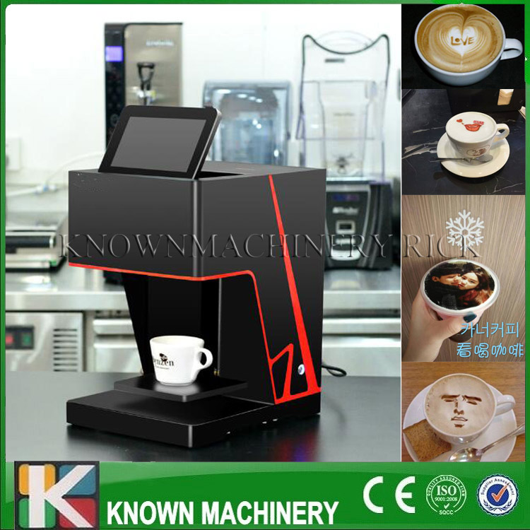 The best selling Small Coffee Maker/Making 3D Digital Printer with free shipping to door coffee printer food printer inkjet printer selfie coffee printer full automatic latte coffee printe wifi function