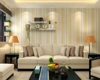 Beibehang Vertical striped wallpaper 3D living room dining room full floor 3d wallpaper roll home decor wallpaper for walls 3 d