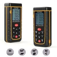 Laser Distance Meter Portable Handheld Range Finder Area Distance Volume Pythagoras Calculation 0 05 To 40m