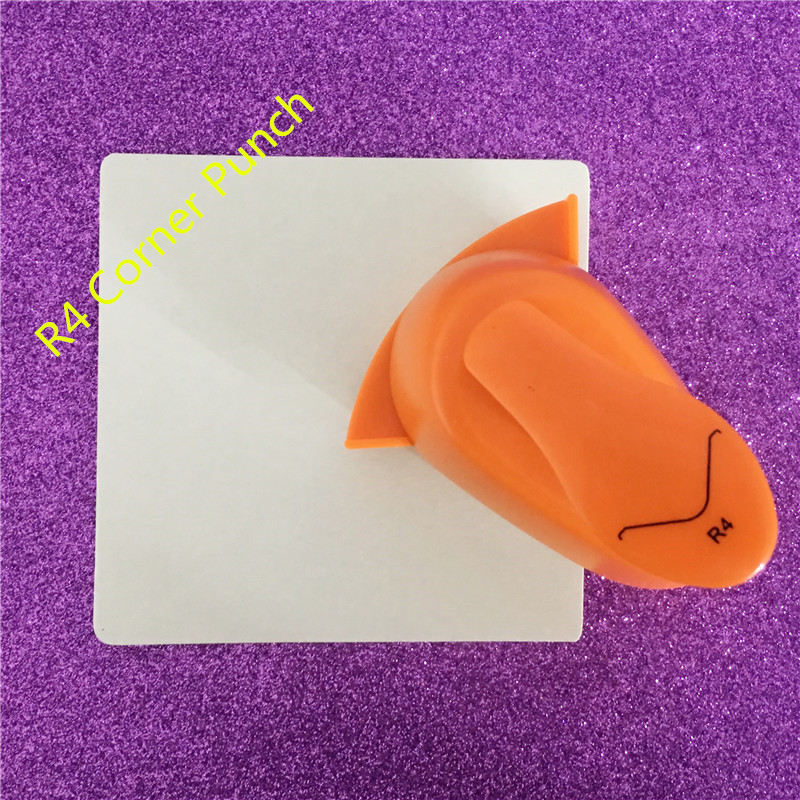 Kind-Hearted R4 Circle Corner Punch Border Craft Punch R4 Round Angle Hole Punch Embossing Cortador De Papel De Scrapbook Puncher Free Ship Moderate Price