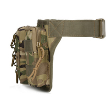 Camping Waist Bag with Camouflage Print