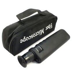 Microscópio ótico handheld da inspeção da fibra 400x com adaptador de 2.5mm & de 1.25mm