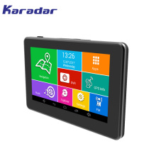 Nieuwe Auto GPS navigator 4.5 inch touchscreen IPS 854*480 HD 1080 P DVR camera DDR3 512 MB MT8127 Quad Core 4 CPU Android4.4.0
