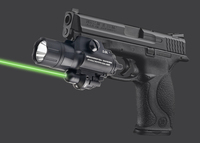 500 Lumens Military LED Torch White Light Tactical Weapon Flashlight Green Laser Sight W Tail Switch
