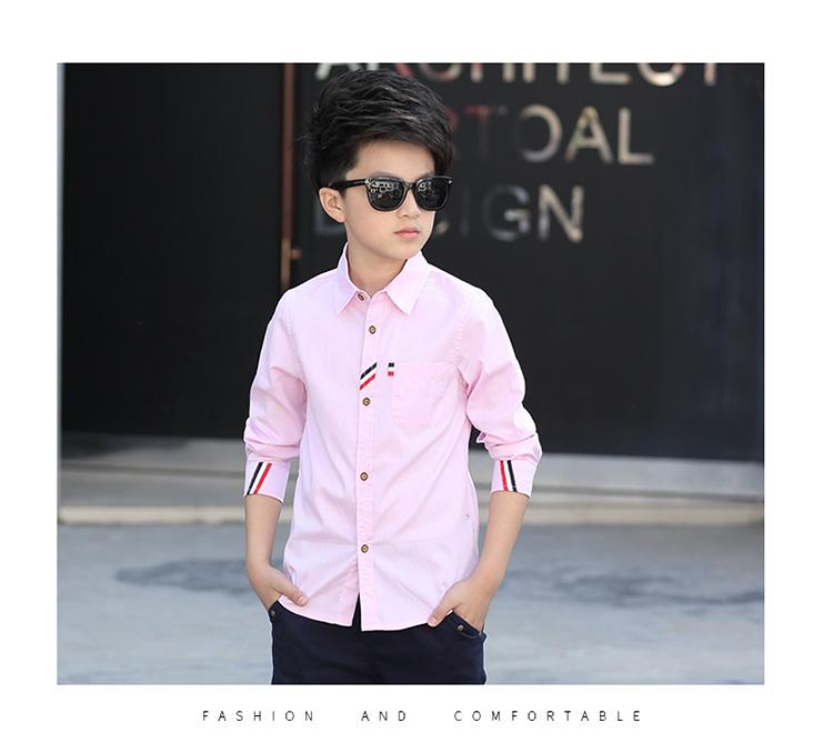 HTB1QZNJPpXXXXcbXVXXq6xXFXXXy - 2017 Boys Clothes New Spring Autumn Boys' Cotton Casual Shirts Kids Long Sleeve Shirt Boys Blouses Turn-Down Collar Shirt