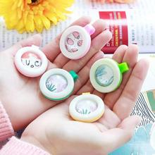 4PCS summer baby mosquito buckle cartoon kids adult mosquito button bug repellent button pregnant women anti-mosquito button