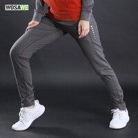 Wosawe Для женщин Штаны Весна нижней Фитнес тренировки бег Йога эластичные спортивные Леггинсы для женщин для отдыха Мотобрюки