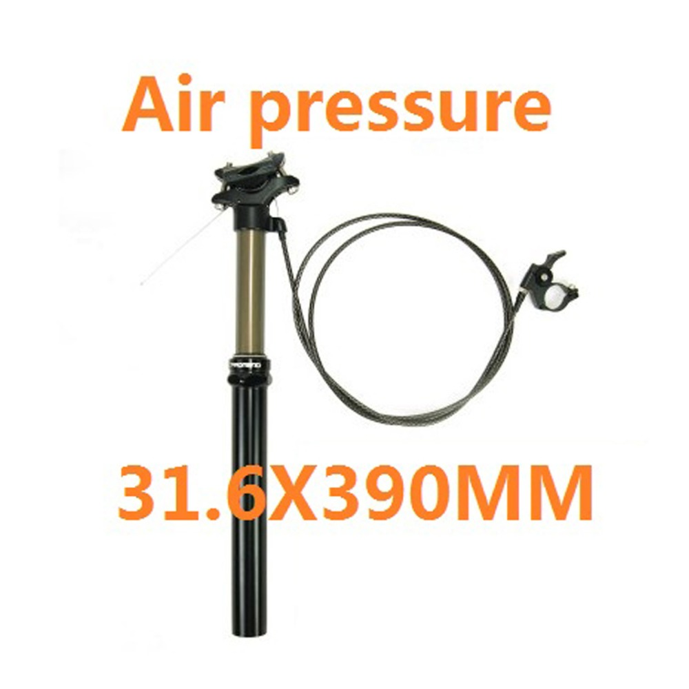 Bike Seatpost Wire Remote Control Lift Seat Post 30.9/31.6 Mm Downhill DH FR AM XC Air/Oil Pressure Adjustment Seatpost