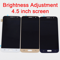 4.5 Adjustable For Samsung Galaxy J1 J120 J120F J120M J120H LCD Display Module Monitor+Touch Screen Digitizer Sensor Assembly