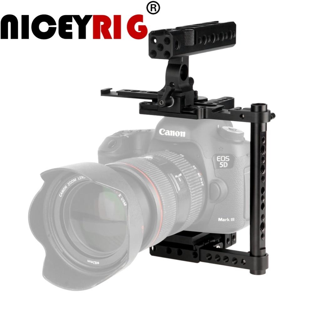 NICEYRIG dslr Camera Stabilizer for Canon for Nikon for for Matsushita Generic Quick Release Camera Rig Photo Studio Accessory цена