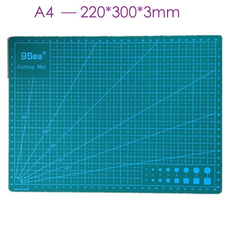 A4 30 22cm grid lines self healing cutting mat craft card for Self healing craft mat