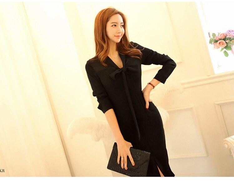 d6b3fdd778066 MingJieBiHuo Fashion women elegant dress work style new arrival au...