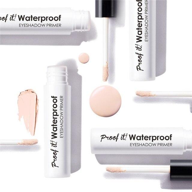 Korean Makeup Eyeshadow Primer Eyes Base Liquid Freckle Covering Primer Longlasting Waterproof Concealer Women Makeup Cosmetics 3