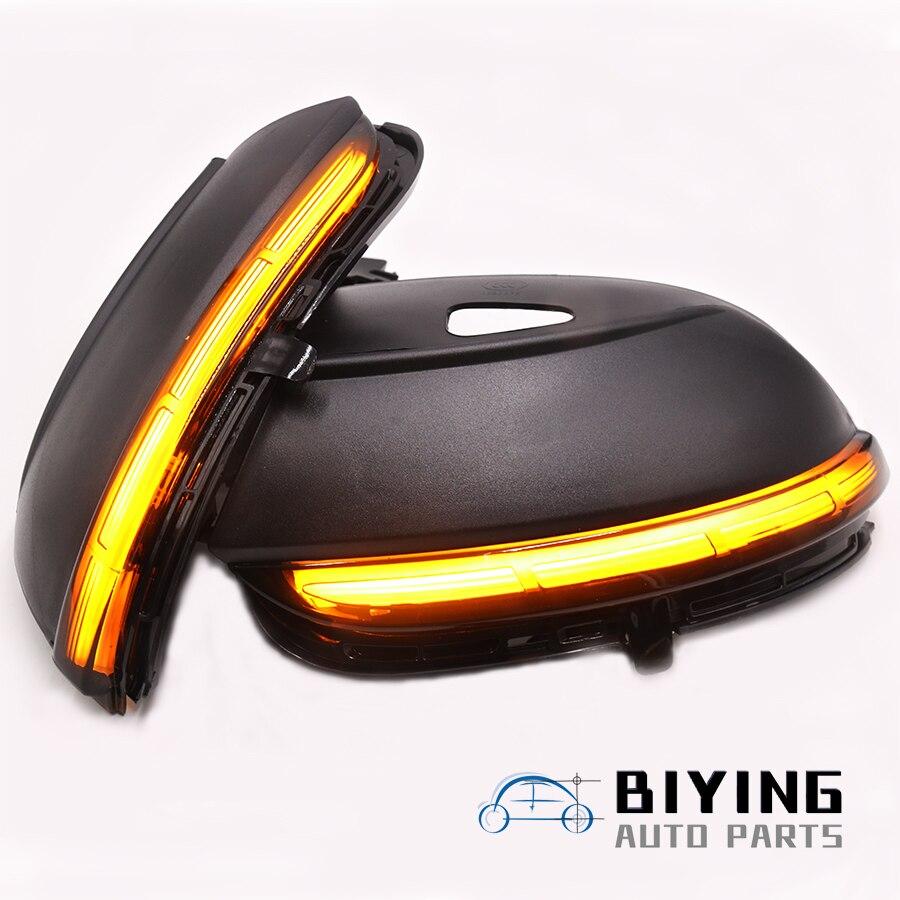 LED coulant rétroviseur séquentiel dynamique clignotant pour VW Passat B7 CC Jetta MK6 Scirocco