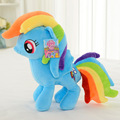 30Cm Cute Rainbow Horse Toy Cartoon Toys Hobbies Stuffed Dolls Movie TV Stuffed Plush Animals Little Horse BaoLi TL0001