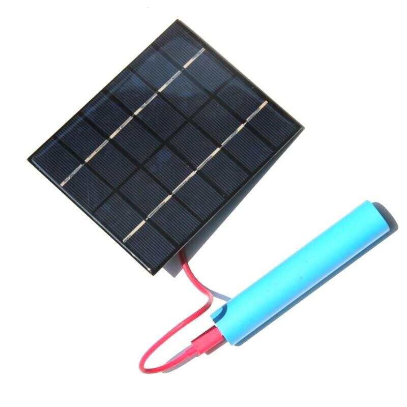 Buheshui 2w 6v Solar Panel Charger Polycrystalline Solar