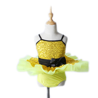 The New Penglai Sling Ballet Jumpsuit Skirt Costumes Dance Clothes 2454 Stage