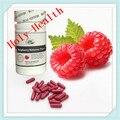 2 garrafas/lote frete grátis original framboesa cetonas 350 mg * 60 cápsulas/garrafa cápsulas