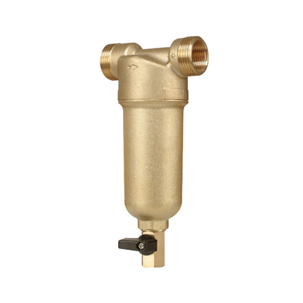 1 inch interface full Copper Port Cleaner Filter Household House Water Filter Pipes Central Water Purifier